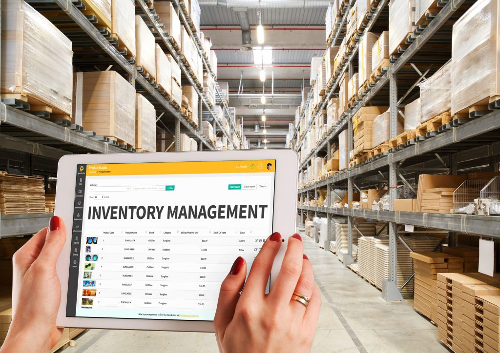 Inventory management systems are put in place to ensure stocks are kept in the right balance.